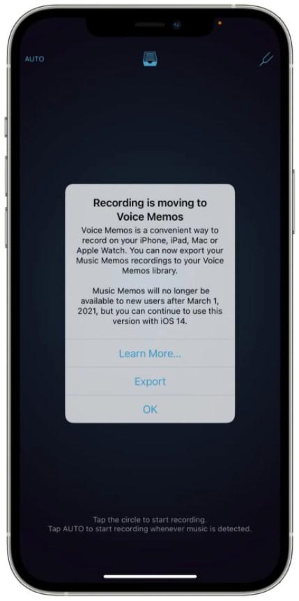 Apple, Müzik Notları uygulamasının fişini çekiyor