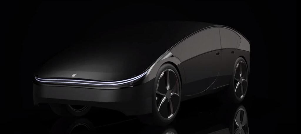 Tasarımıyla dikkat çeken Apple Car konsepti
